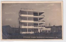 Amsterdam Openlucht School Cliostraat FOTOKAART    1645 - Amsterdam