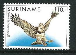 SURINAME MNH - 1986 Birds - Harpy Eagle - 10 Guilder - Michel SR 1187 - Suriname