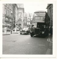 M33 - Double Decker Bus & Cars - LONDON UK 1967 - Cars