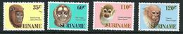 SURINAME MNH - 1987 Monkeys - Vari Cent - Michel SR 1194 1197 - Suriname