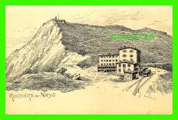 MELTZER, SUISSE -  ROCHERS DE NAYE - ENDOS NON DIVISÉ - V. C. - - VD Vaud