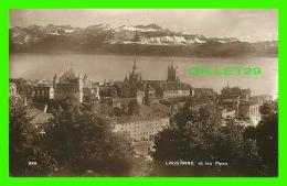 LAUSANNE, SUISSE - VUE DE LA VILLE ET LES ALPES - ÉDITIONS ART PERROCHET & DAVID - - VD Vaud