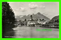 NIESEN, SUISSE - VUE DU VILLAGE - INTERLAKEN MIT NIESEN - PHOT. J. STUMP & CIE - - BE Berne
