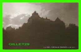 GRUYÈRES, SUISSE - CHÂTEAU DE GRUYÈRES VUE DE NUIT - JULLIEN FRÈRES, PHOT. EDITEURS - - FR Fribourg