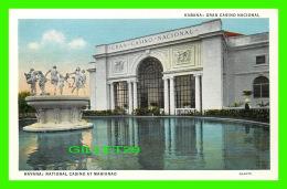 HAVANA, CUBA - NATIONAL CASINO AT MARIANAO - C. JORDI - - Cuba