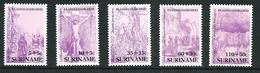 SURINAME MNH - 1987 Easter Pasqua - Vari Cent - Michel SR 1205 1209 - Suriname