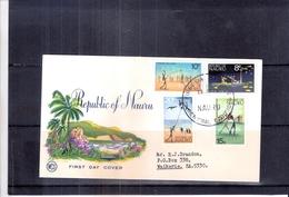 FDC De Nauru (à Voir) - Nauru