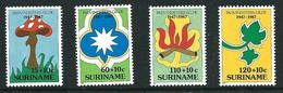 SURINAME MNH - 1987 The 40th Anniversary Of Surinam Girl Guides - Vari Cent - Michel SR 1210 1213 - Suriname