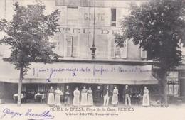 RENNES - HOTEL DE BREST PLACE DE LA GARE - VICTOR GOUTE, PROPRIETAIRE - 35 - Rennes