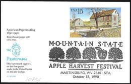 Stati Uniti/United States/États-Unis: Sagra Delle Mele, Apple Festival, Fête Des Pommes - Frutta