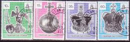 TRISTAN DA CUNHA 1993 SG #542-545 Compl.set Used 40th Anniv Of Coronation - Tristan Da Cunha