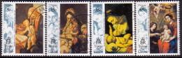 TRISTAN DA CUNHA 1993 SG #549-52 Compl.set Used Christmas - Tristan Da Cunha