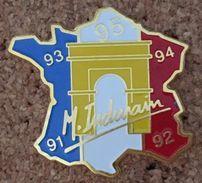 CYCLISME - VELO-CYCLISTE - M.INDURAIN QUINTUPLE VAINQUEUR DU TOUR DE FRANCE 91-92-93-94-95-PARIS-ARC DE TRIOMPHE- (ROSE) - Radsport