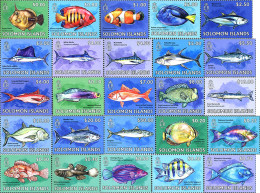 Ref. 332400 * NEW *  - SOLOMON Islands . 2014. FISHES. PECES - Solomon Islands (1978-...)