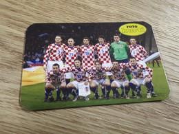 Old Pocket Calendars - Soccer, Croatia 2009 - Calendars