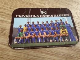 Old Pocket Calendars - Soccer, Croatia, NK Dinamo 1979 - Calendars