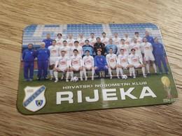 Old Pocket Calendars - Soccer, Croatia, NK Rijeka 2006 - Calendars