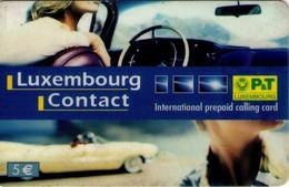 TARJETA TELEFONICA DE LUXEMBURGO. PREPAGO (007) - Luxembourg