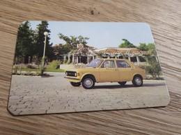 Old Pocket Calendars - Pasenger Car, Yugoslavia, Zastava 101 - Calendars