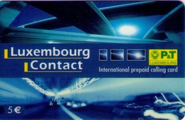 TARJETA TELEFONICA DE LUXEMBURGO. PREPAGO (008) - Luxembourg