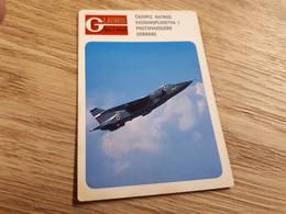 Old Pocket Calendars - Airplanes, Yugoslavia, Military, Orao - Calendars