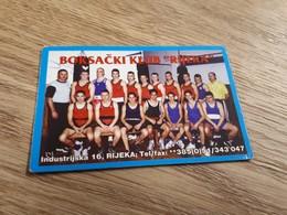 Old Pocket Calendars - Boxing, Croatia, Rijeka - Calendars