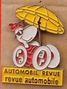 LA REVUE AUTOMOBILE - AUTOMOBIL REVUE - PARASOL - VOITURE - CAR   -        (ROSE) - Other