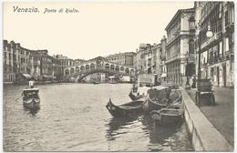 VENEZIA - Ponte Di Rialto- Gondole- Edizione Austriaca. FP NV - Venezia (Venice)