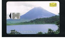 COSTA RICA -   1995   ARENAL VOLCANO                                                    - USED   -  RIF. 10780 - Costa Rica