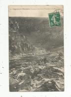Cp  , 23 , CHATELUS LE MARCHEIX ,la Rivière THAURION ET LES ROCS L'HIVER , Voyagée - Other Municipalities