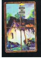 COSTA RICA -  1999 DESIGN     - USED   -  RIF. 10780 - Costa Rica