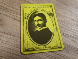 Old Pocket Calendars - Nikola Tesla - Calendars