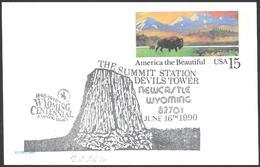"Stati Uniti/United States/États-Unis: ""torre Dei Diavoli"", ""devils Tower"", ""tour Des Diables"" - Altri"