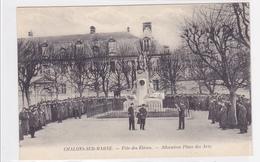 Cpa-51-chalons--ecole Des Arts Et Metiers-fete Des Eleves-allocution Place Des Arts - Châlons-sur-Marne