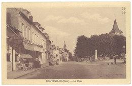 Cpa Conteville - La Place - France