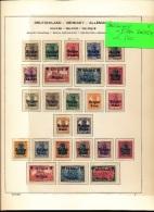 BELGIQUE OCCUPATION ALLEMANDE 14/18 + EUPEN MALMEDY  LH SCHARNIEREN NEUF CHARNIERE - Collections