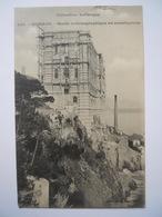 Monaco Le Musée Océanographique En Construction N°830 - Ozeanographisches Museum