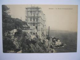 Monaco Le Musée Océanographique En Construction - Ozeanographisches Museum