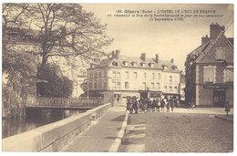 Cpa Gisors - L'Hôtel De L'Ecu De France ... - Gisors