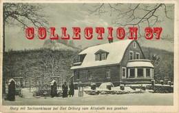 ☺♥♥ IBURG Mit SACHSENKLAUSE Bei BAD DRIBURG Vom ALISABETH Aus GESEHEN - RESTAURANT - GERMANY ALLEMAGNE - Bad Driburg