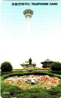 OCARDS : KOR05 O9309223 Letter W USED - Korea, South