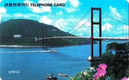 OCARDS : KOR12 O9210213 Letter W USED - Korea, South