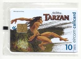 Ireland - Eircom - Tarzan Leaping - 10Units, 11.1999, 75.000ex, NSB - Ireland