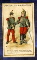 CHROMO GUERIN-BOUTRON Humour FANTASSIN SOLDAT Soldier Army Infantryman MINOT - Guérin-Boutron