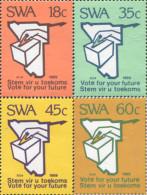Ref. 363445 * NEW *  - SOUTH WEST AFRICA . 1989. VOTE POR SU FUTURO - Stamps