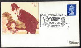 B110   Belfast 1982 - Royal Ulster Constabulary Diamond Jubilee - Polizei - Gendarmerie