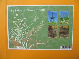 France Bloc Feuillet N° 130  Le Salon Du Timbre  2010  Bloc Doré - Blocs & Feuillets