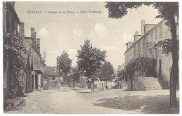 Cpa Meyssac - Avenue De La Poste - Hôtel Marbouty - France
