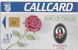 Ireland - Eircom - Rose Of Tralee '92 - 20Units, 07.1992, 150.000ex, Used - Ireland