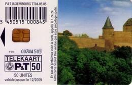 TARJETA TELEFONICA DE LUXEMBURGO. TT04 (072) - Luxembourg